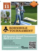 KB Kornhole Tournament Flyer